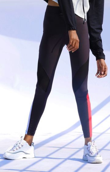 Myriad | Black Solid Trackpants
