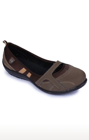 Liberty | Gliders by Liberty Brown Ballerinas