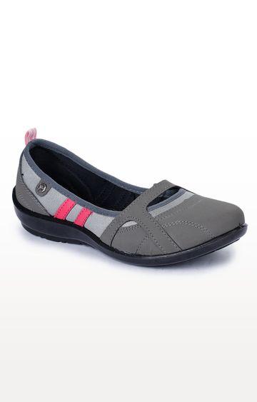 Liberty   Grey Casual Slip-ons