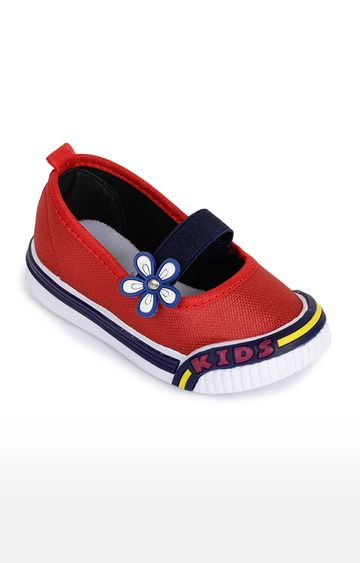 Liberty | Lucy & Luke by Liberty Red Ballerinas