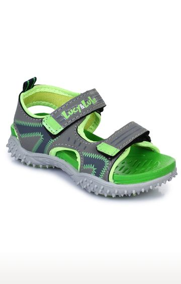 Liberty | Lucy & Luke by Liberty Unisex Green Floaters
