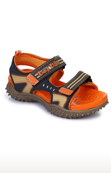Liberty | Lucy & Luke by Liberty Unisex Orange Floaters