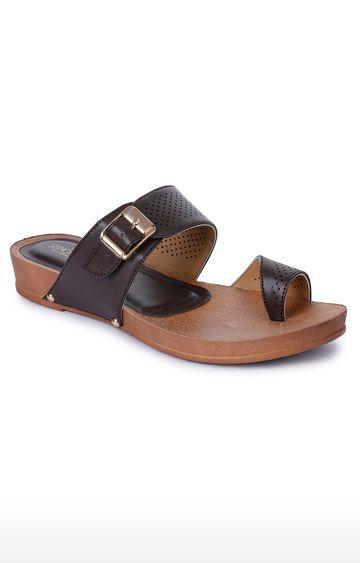 Liberty | Senorita by Liberty Brown Thong Sandals