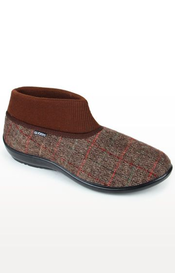 Liberty | Gliders by Liberty Brown Casual Slip-ons