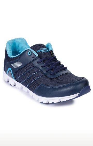 Liberty | Force 10 by Liberty Navy Lace-up Sports Shoes