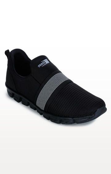 Liberty   Black Sports Shoes