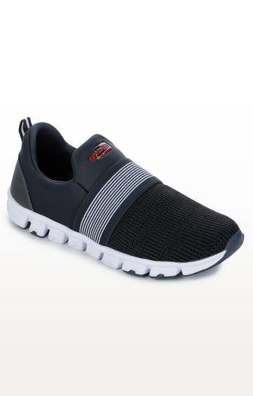 Liberty   Dark Grey Sports Shoes