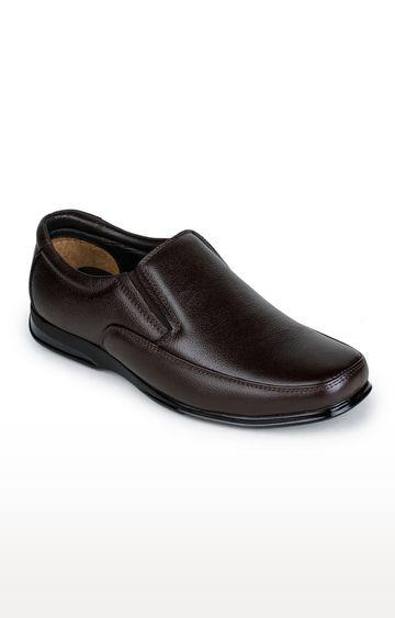 Liberty   Brown Formal Slip-ons