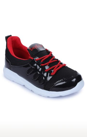 Liberty | Force 10 by Liberty Black Indoor Sports Shoes