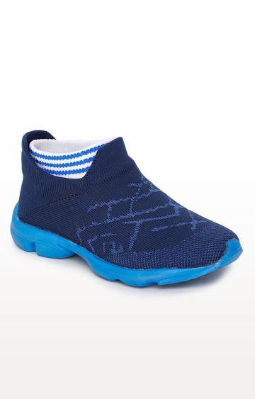 Liberty | Royal Blue Casual Slip-ons