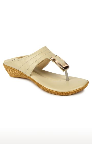 Liberty | Senorita by Liberty Beige Thong Sandals