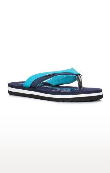 Liberty   A-HA by Liberty Blue Flip Flops
