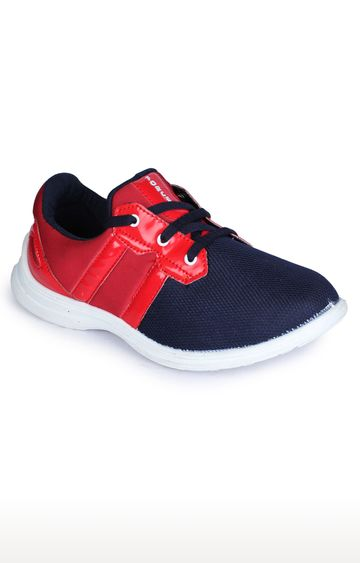 Liberty | Force 10 by Liberty Red Casual Lace-ups