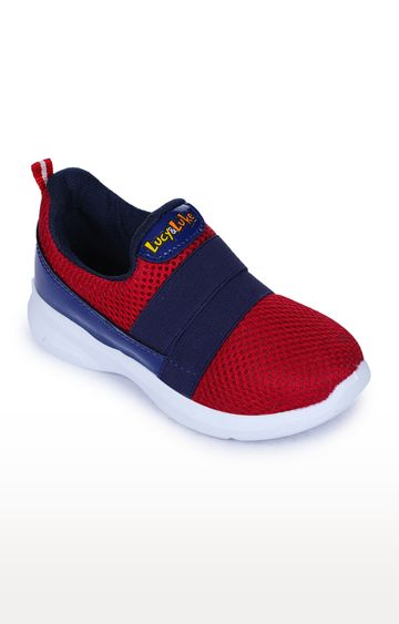 Liberty | Lucy & Luke by Liberty Unisex Red Casual Slip-ons