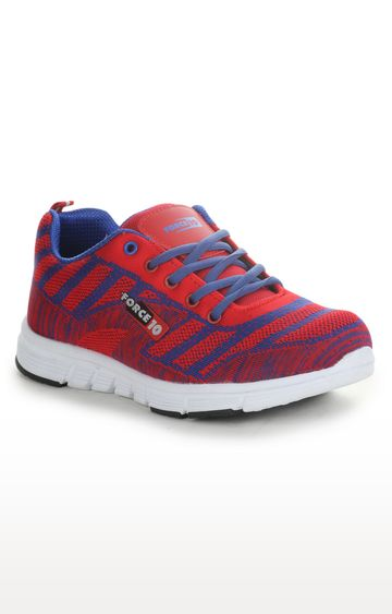 Liberty | Red Casual Lace-ups