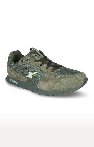Sparx | Olive Outdoor Sports Shoes