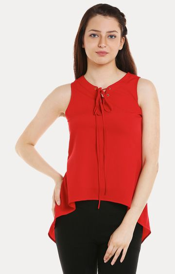 109F | Red Solid Top