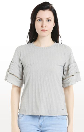 109F | Sage Green Solid Top