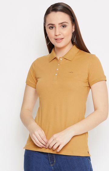 METTLE | Dusty Mustard Solid T-Shirt