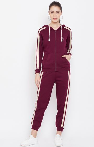 METTLE | Wine Solid Tracksuit