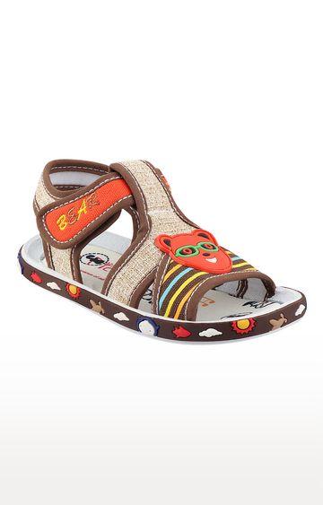 Rex | Beige Slip On Sandals
