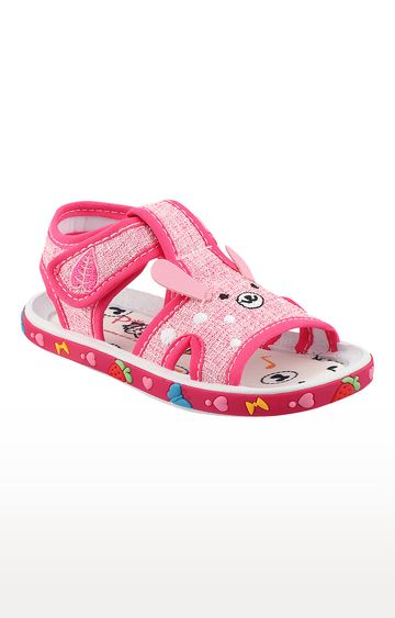 Rex | Pink Slip On Sandals