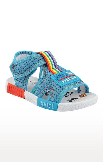 Rex | Blue Slip On Sandals
