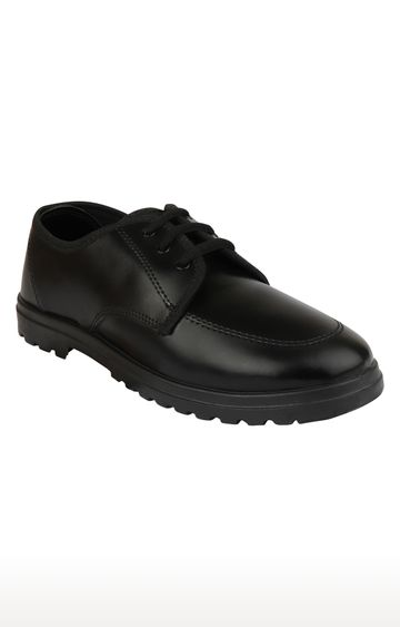 Rex | Black School Shoes