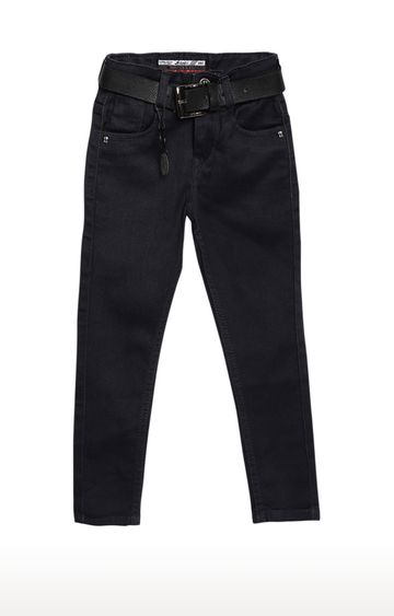 Tadpole   Charcoal Solid Regular-Fit Jeans