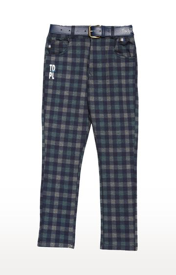 Tadpole | Blue Checked Jeans
