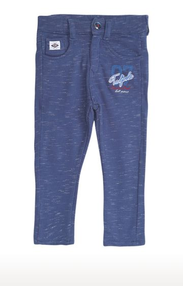 Tadpole | Blue Melange Trousers