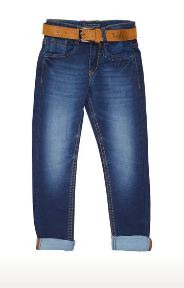 Tadpole | Blue Solid Jeans