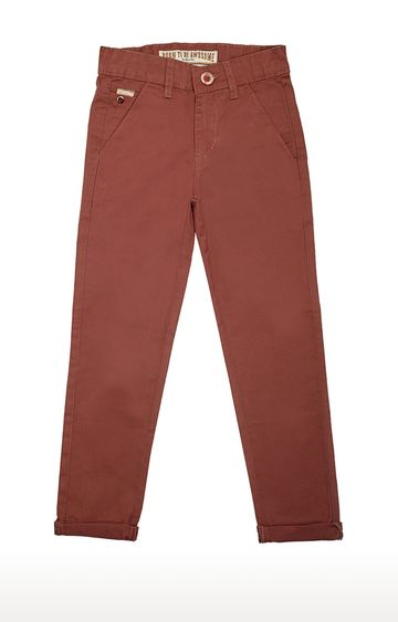 Tadpole   Brown Solid Jeans