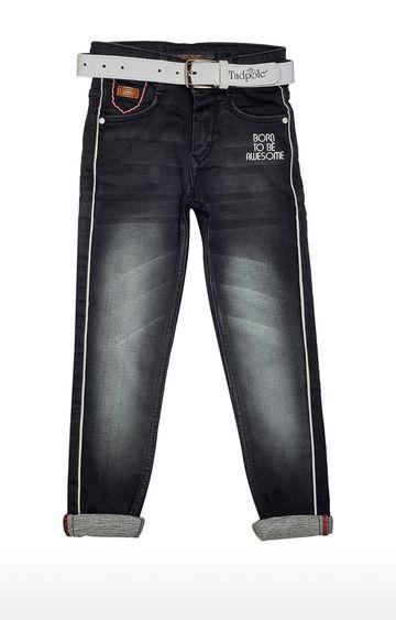 Tadpole | Black Solid Jeans