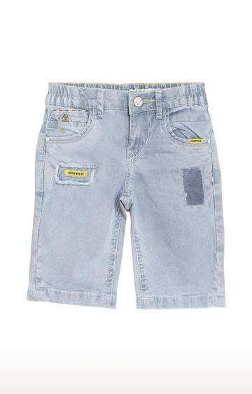 Tadpole | Blue Striped Casual Shorts
