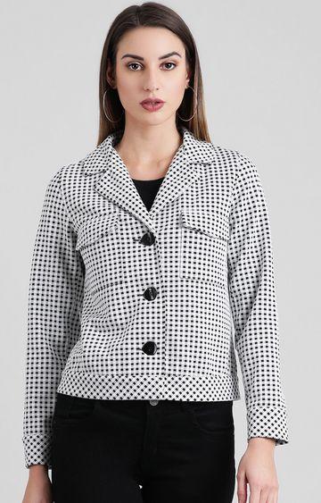Zink London | Black Checked Jacket