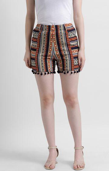 Zink London | Multicoloured Printed Shorts