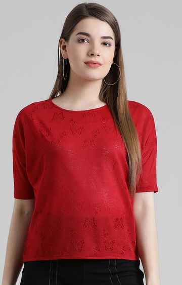Zink London | Red Solid Top
