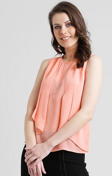Zink London | Peach Solid Top