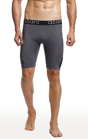 Azani | Grey Solid Trunks