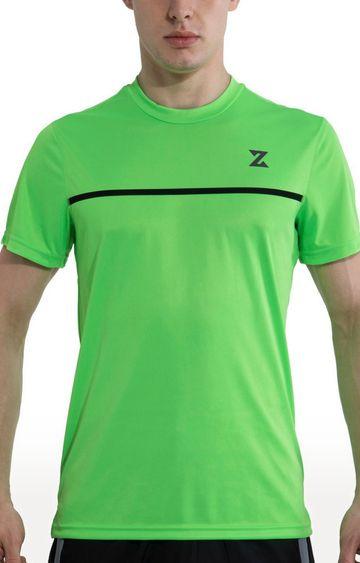 Azani | Green Solid T-Shirt