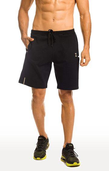 Azani | Black Solid Shorts