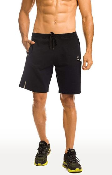 Azani | Navy Solid Shorts