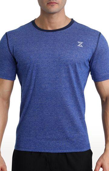 Azani | Blue Melange T-Shirt