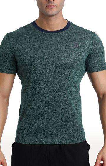 Azani | Green Melange T-Shirt