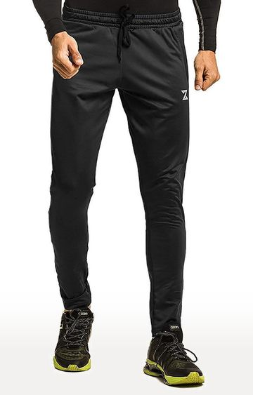 Azani | Black Solid Trackpants