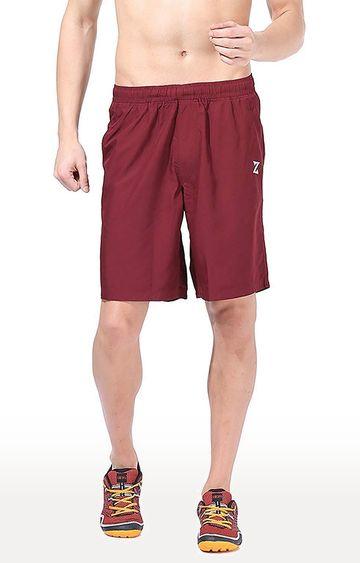 Azani | Maroon Solid Shorts