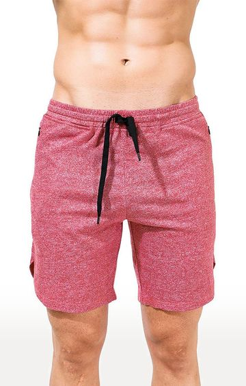 Azani | Red Melange Shorts