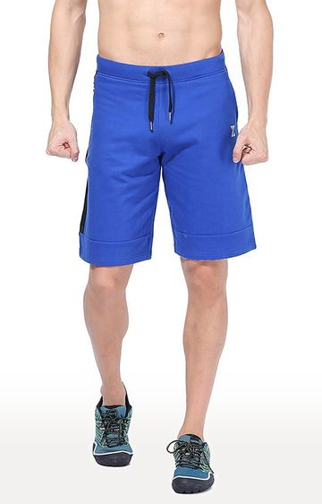 Azani | Royal Blue Solid Shorts