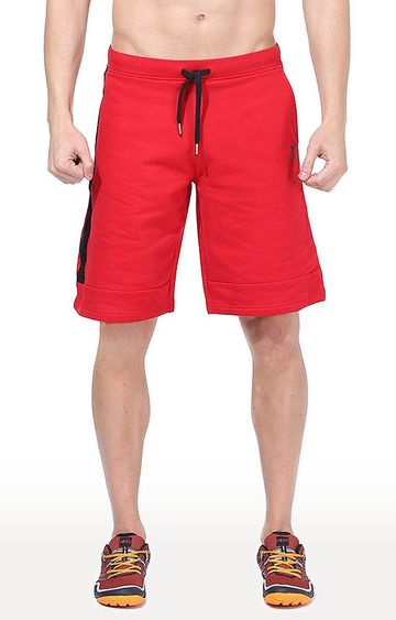 Azani | Red Solid Shorts